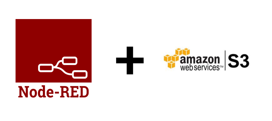 Node-RED + Amazon S3